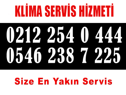 Taksim Toshiba Klima Servisi